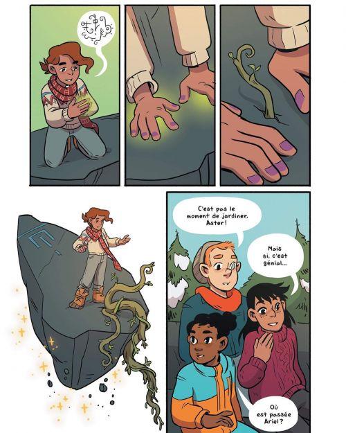 Le garçon sorcière T3 : La sorcière du Solstice (0), comics chez Kinaye de Ostertag