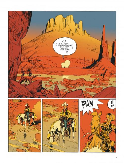 Wanted, Lucky Luke !, bd chez Dargaud de Bonhomme
