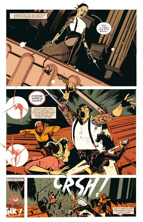 Deadly Class T9 : Bone machine  (0), comics chez Urban Comics de Remender, Craig, Boyd