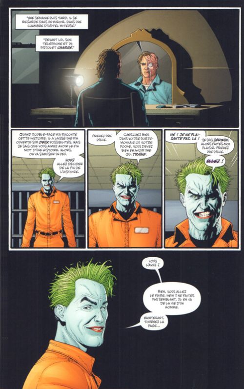 Batman Arkham T1 : Double Face  (0), comics chez Urban Comics de Wagner, O'neil, Helfer, Finger, Cameron, Dematteis, Reed, Tomasi, Hine, Timm, Kane, McDaniel, March, Adams, Clarke, Sprang, Sprouse, Bermejo