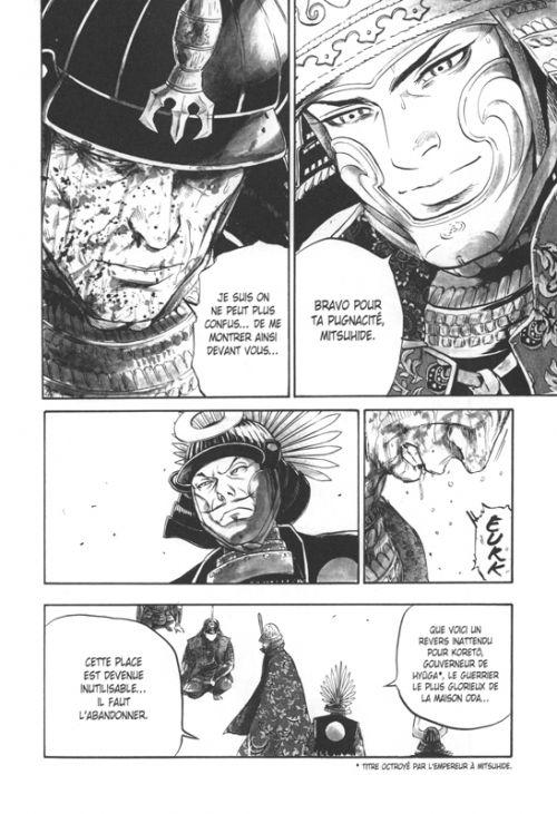 L'homme qui tua Nobunaga  T2, manga chez Delcourt Tonkam de Takechi, Todo