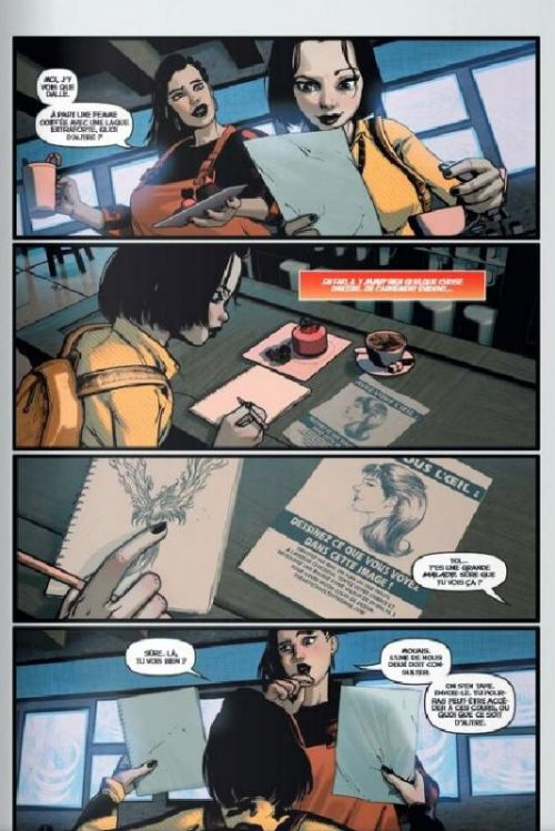 Marqués, comics chez Delcourt de Hine, Haberlin, Anacleto, Van Dyke