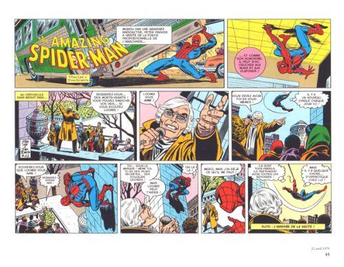 Amazing Spider-Man  T2 : Les comic strips 1979-1981 (0), comics chez Panini Comics de Lee, Lieber, Kida, Romita Sr