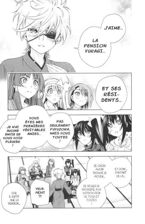 Yûna de la pension Yuragi T18, manga chez Pika de Miura