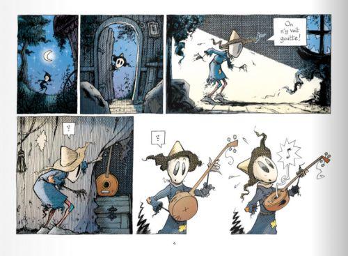 L'Emouvantail T4 : L'oiseau bohème (0), bd chez Editions de la Gouttière de Dillies