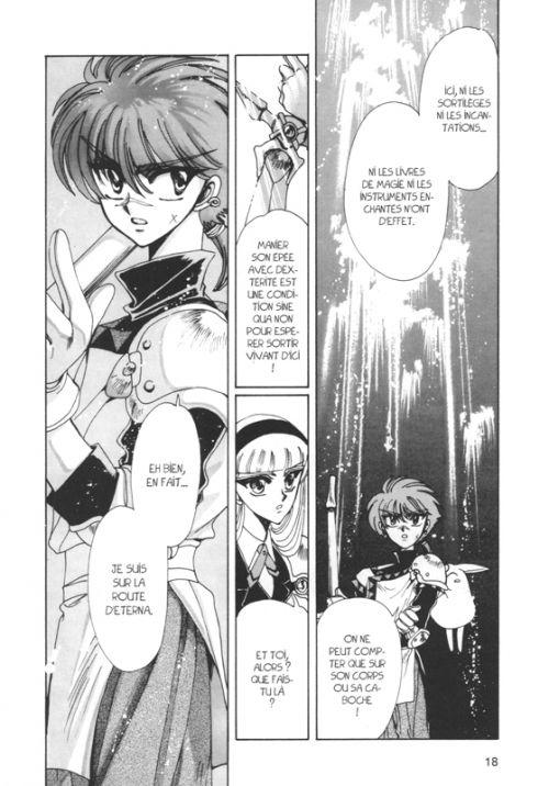 Magic knight rayearth T2, manga chez Pika de Clamp