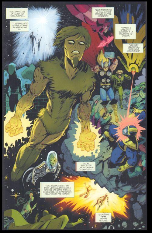 Empyre T1 : Empyre (0), comics chez Panini Comics de Zdarsky, Oliveira, Slott, Ewing, Thompson, Larraz, Garcia, Silva, Izaakse, Schiti, Rodriguez, Lopez, Menyz, Farrell, Gracia