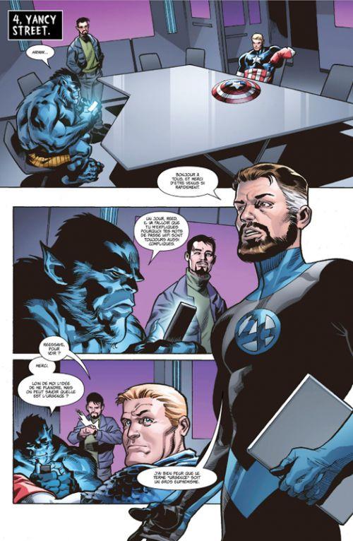 Marvel Zombies : Résurrection (0), comics chez Panini Comics de Kennedy Johnson, Kirk, Rosenberg, Guru efx, Lee