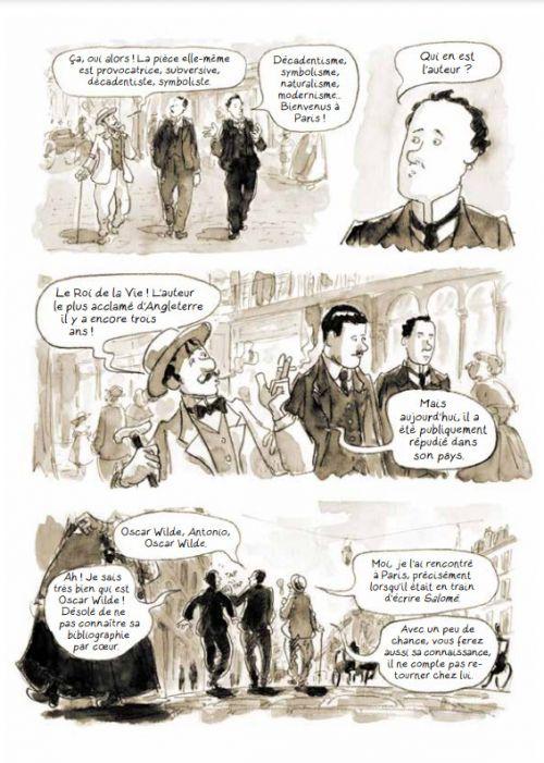 La Divine comédie d'Oscar Wilde, bd chez Rackham de de Isusi