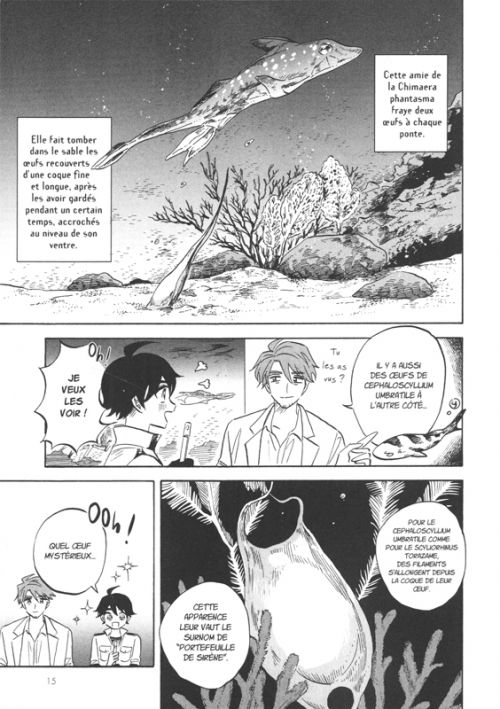Deep sea aquarium Magmell T4, manga chez Dupuis de Sugishita