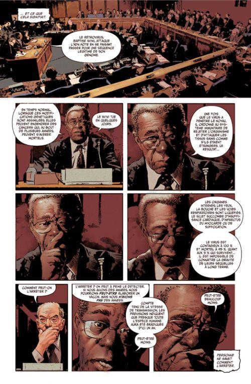 The resistance , comics chez Panini Comics de Straczynski, Deodato Jr, Martin, Loughridge, Rahzzah