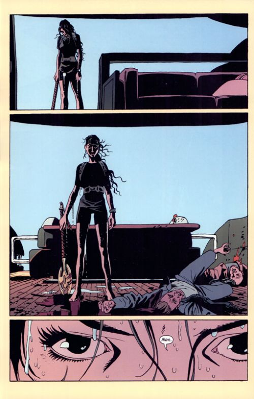The Old Guard T2 : Retour en force (0), comics chez Glénat de Rucka, Fernandez, Miwa