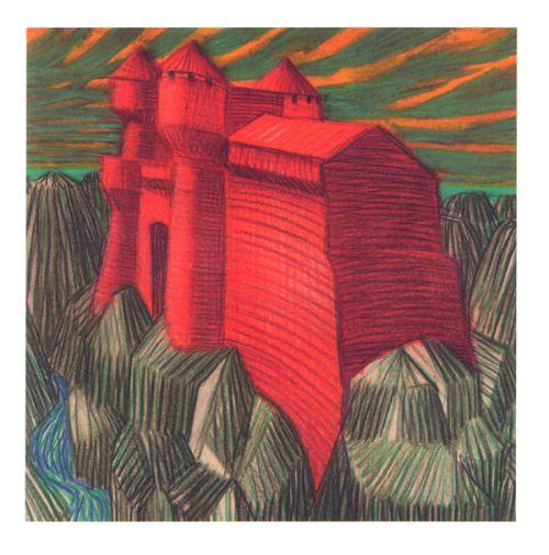 Rites, rivières, montagnes et châteaux, bd chez Actes Sud BD de Mattotti