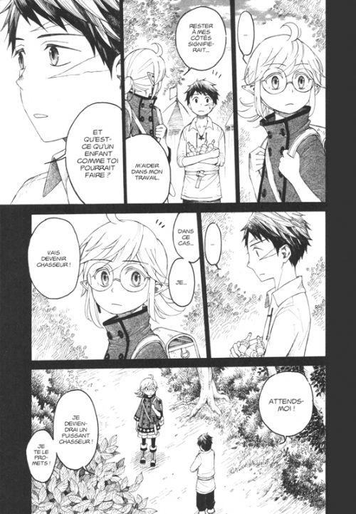 The elf and the hunter T1, manga chez Soleil de Umetaro