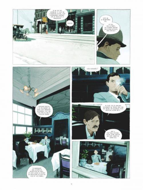 Mauvaise réputation T1 : La véritable histoire d'Emmett Dalton (0), bd chez Glénat de Ozanam, Bazin