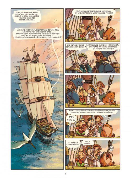 Les Terreurs des mers T2 : L'île du crâne (0), bd chez Glénat de Brrémaud, Rigano, Dottori