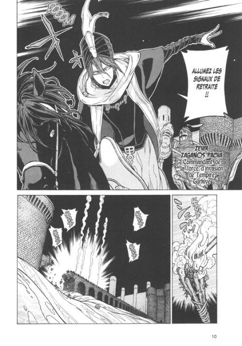 Altaïr T23, manga chez Glénat de Katô