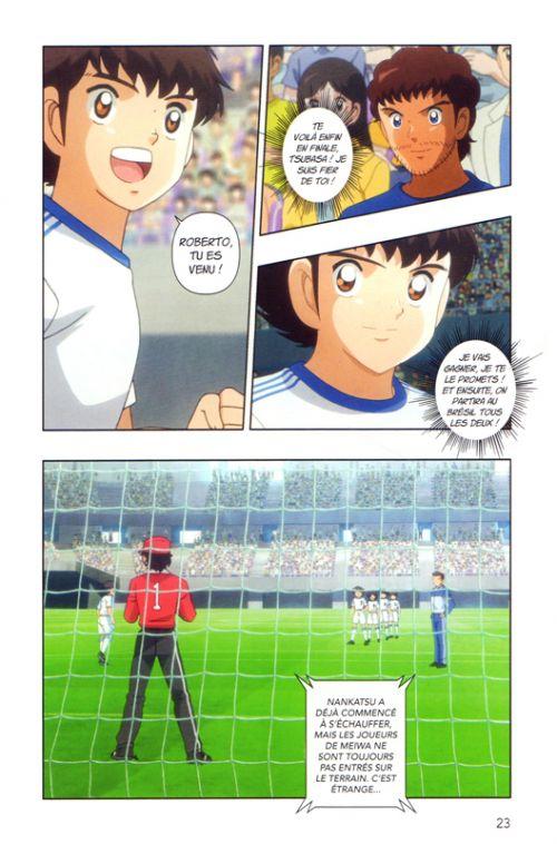 Captain Tsubasa Anime comics – Saison 1, T4, manga chez Nobi Nobi! de Takahashi, DAVID Production