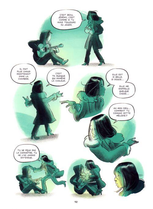 Le Garçon au visage disparu, bd chez Kennes éditions de Tremblay, Lecrenier
