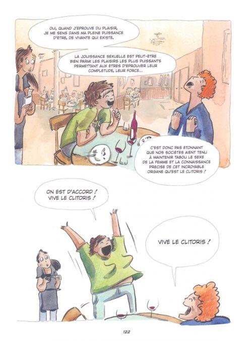 L'Affaire clitoris, bd chez Marabout de Loup, Saint-Lô