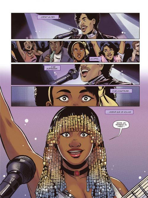 Minneapolis Capitale du funk, comics chez Les Humanoïdes Associés de Tabu, Illidge, Laxton, Shu