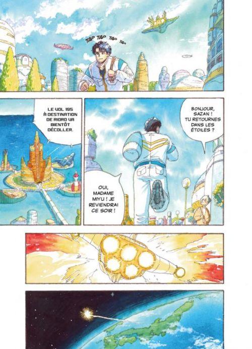 Comet girl T1, manga chez Casterman de Akase