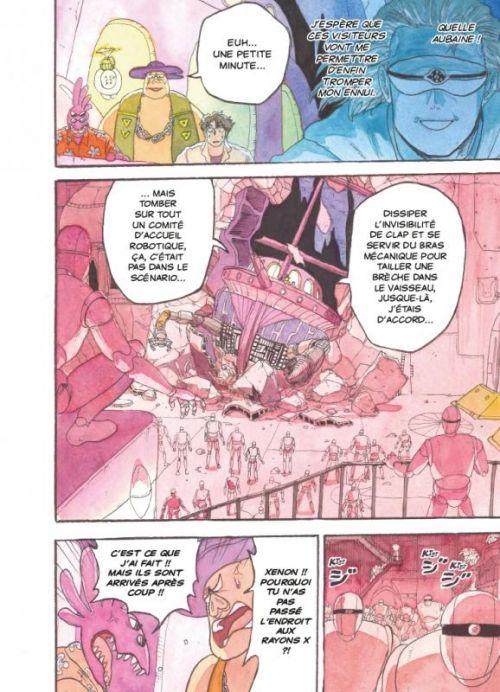 Comet girl T2, manga chez Casterman de Akase