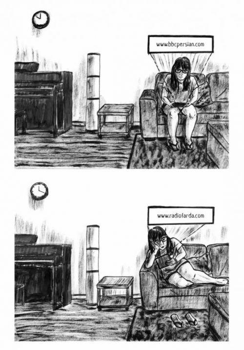 Hantée, bd chez Çà et là de Moazzami