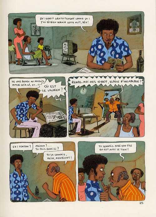 Aya de Yopougon T2, bd chez Gallimard de Abouet, Oubrerie
