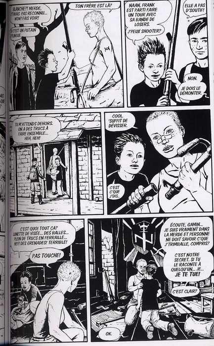 Blanche T1 : Blanche, the baby killer (0), comics chez Wetta de Kwon