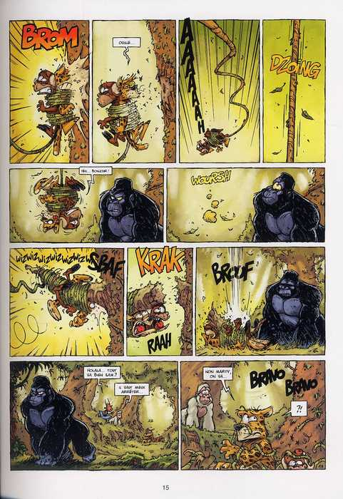Les garnimos T2 : Le vilain petit gorille (0), bd chez Soleil de Dav, Kness