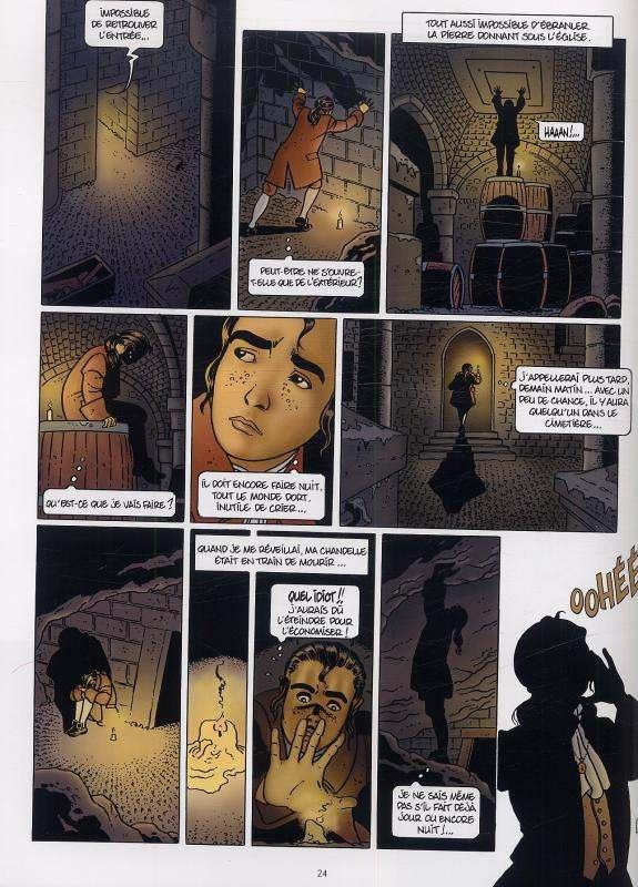 Le secret du Mohune T1 : La crypte (0), bd chez Delcourt de Rodolphe, Hé, Puerta