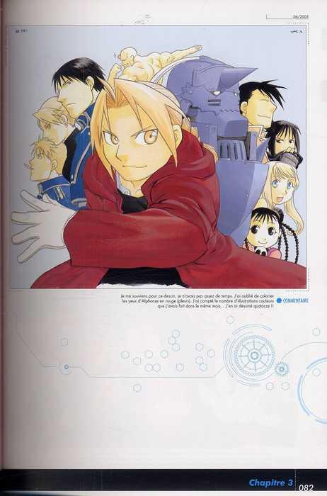 Fullmetal Alchemist - Recueil d'illustrations T2, manga chez Kurokawa de Arakawa