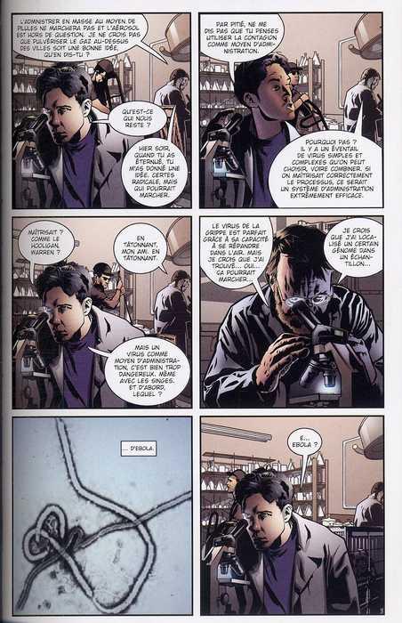 28 jours plus tard : Le contrecoup (0), comics chez Panini Comics de Niles, Branch, Calero, Jones, Olmos