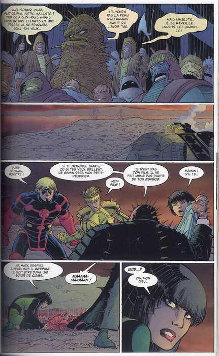 Les Eternels T2 : La fin du voyage (0), comics chez Panini Comics de Gaiman, Romita Jr, Mounts, Hollingsworth, White, Coipel