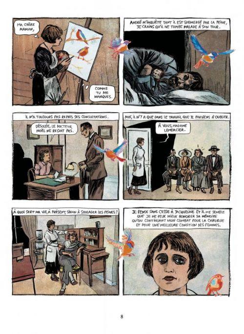 A mains nues T2 : 1922 - 1954 (0), bd chez Les arènes de Slimani, Oubrerie, Desmazières