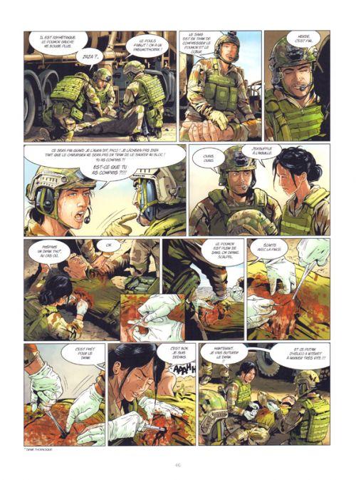 Médecins de guerre T1 : Ligne de vie (0), bd chez Dargaud de Buendia, Laplagne, Le Capon, Formaggio