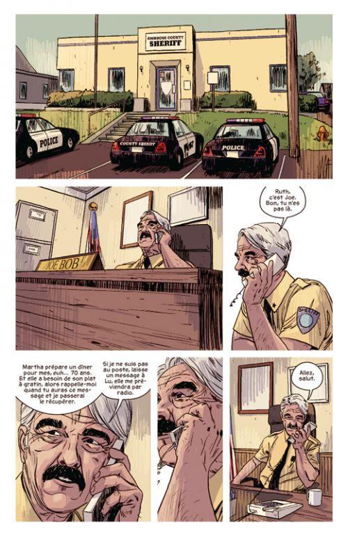 Texas Blood, comics chez Delcourt de Condon, Phillips
