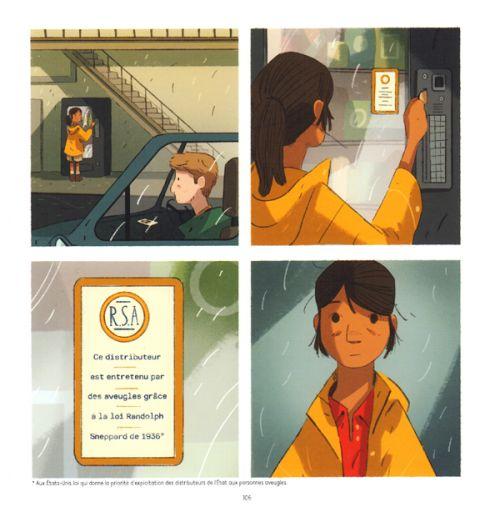 Ours, comics chez Kinaye de Queen, Todd-Stanton