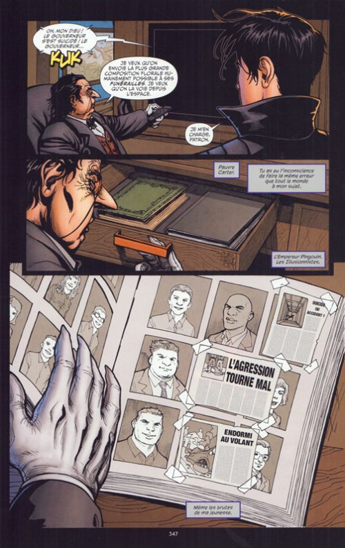 Batman Arkham T3 :  Le Pingouin (0), comics chez Urban Comics de Collectif, Mattina