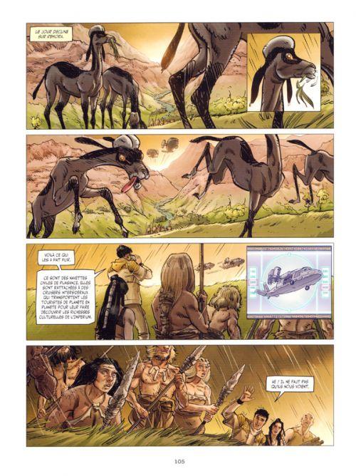 Sapiens Imperium, bd chez Les Humanoïdes Associés de Timel, Miguel, Meloni