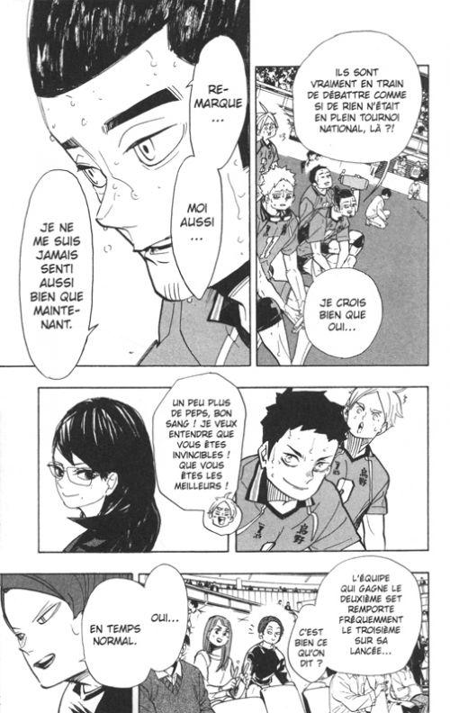 Haikyû, les as du volley T41, manga chez Kazé manga de Furudate