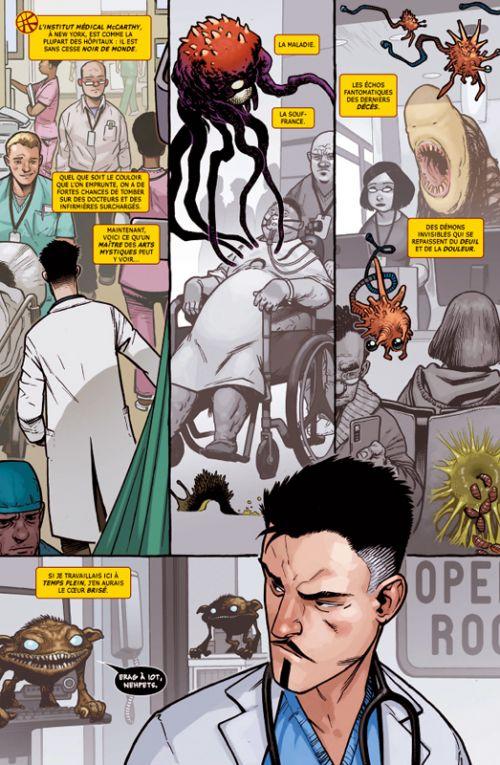 Doctor Strange: chirurgien suprême  : Sur le billard (0), comics chez Panini Comics de Waid, Walker, Tartaglia, Fabela, Noto