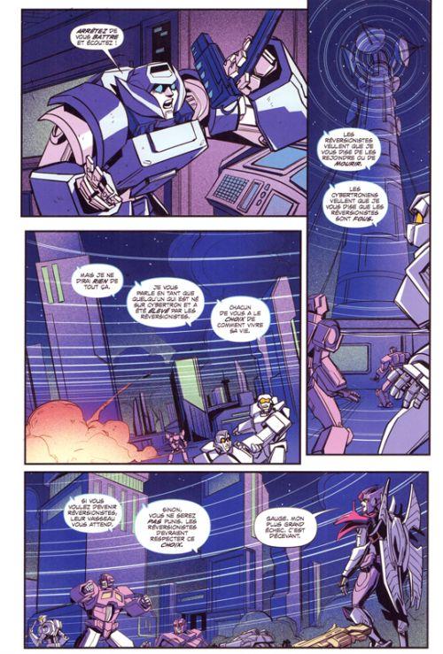 Transformers Galaxies T2 : Wannabee ; Gauging the truth (0), comics chez Vestron de Leth, Maggs, Edenfield, McGuire Smith, Milne , Miyao, Burcham, Cruz, Pitre-Durocher