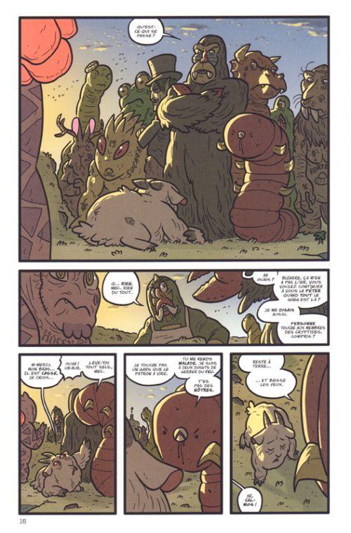 Kaijumax T2, comics chez Bliss Comics de Cannon, Fischer