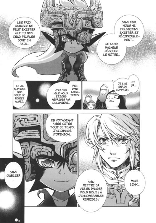 The legend of Zelda - Twilight princess T9, manga chez Soleil de Himekawa