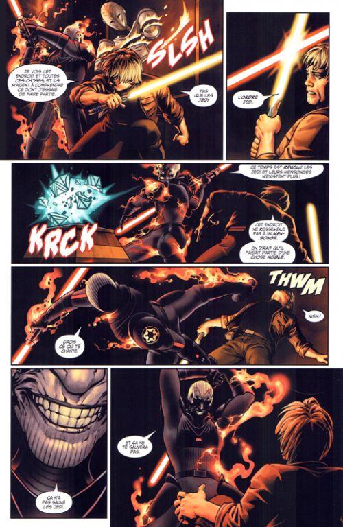 Star Wars  T1 : La voie du destin (0), comics chez Panini Comics de Soule, Ross, Saiz, Collectif, Silva
