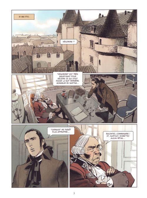 Nicolas le Floch T3 : Le fantôme de la rue royale (0), bd chez Robinson de Corbeyran, Parot, Chaiko