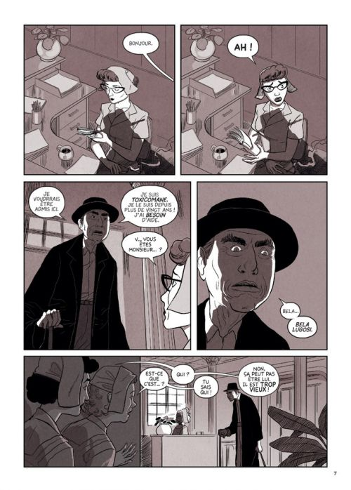 Bela Lugosi : Grandeur et décadence de l'immortel Dracula (0), comics chez La boîte à bulles de Shadmi