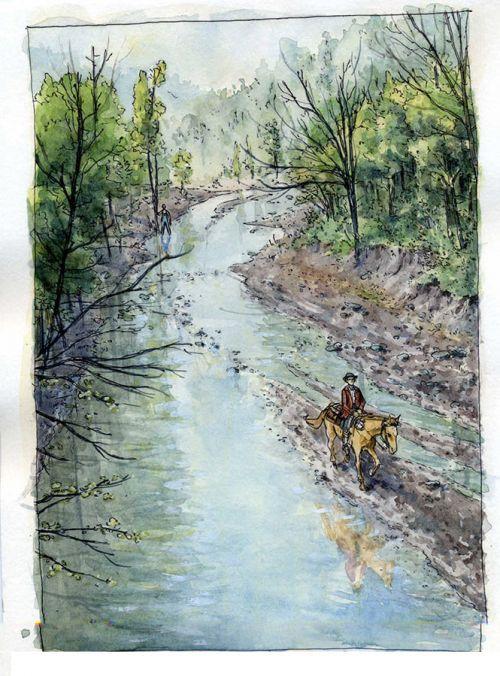 Cutshin creek, bd chez Passés composés de Gauthier, Blary